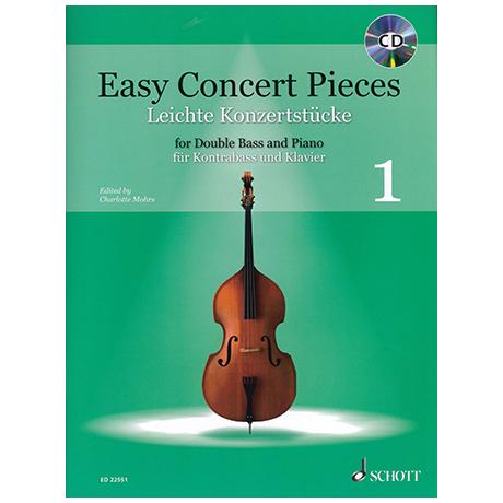 Mohrs, C.: Leichte Konzertstücke Band 1 (+CD)