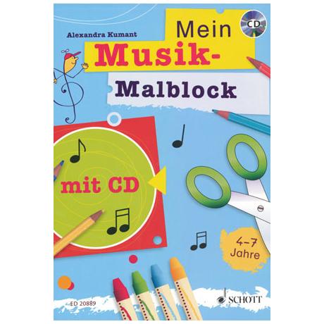 Ziegler/ Kumant: Mein Musikmalblock (+CD)