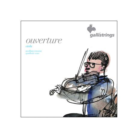 GALLI STRINGS Ouverture Violasaiten SATZ