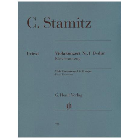 Stamitz, C.: Violakonzert D-Dur Urtext, Kadenz: Levin