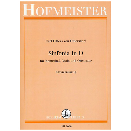 Dittersdorf, K.D.v.: Sinfonia in D