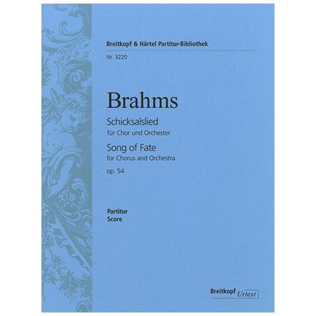 Brahms, J.: Schicksalslied Op. 54