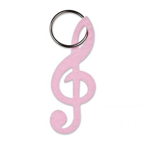 Schlüsselanhänger Soft Key rosa