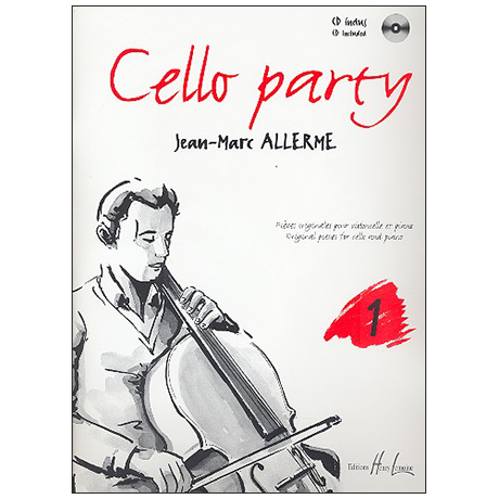 Allerme, J.-M.: Cello Party Band 1 (+CD)