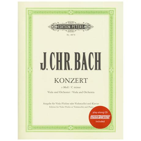 Bach, J. Chr.: Violakonzert c-Moll (Casadesus) (+CD)