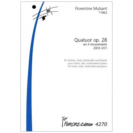 Mulsant, F.: Quatuor Op. 28 en 3 mouvements