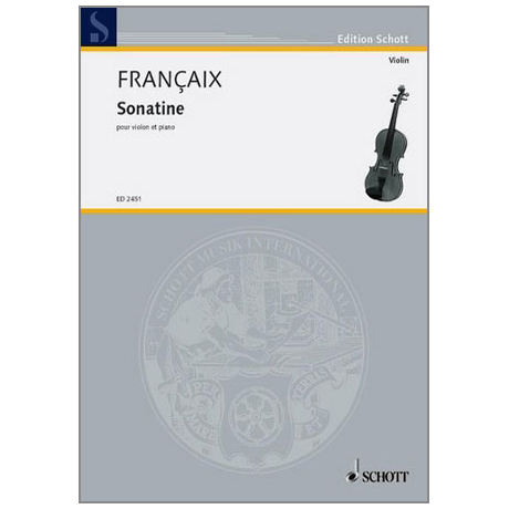 Françaix, J.: Violinsonatine (1934)