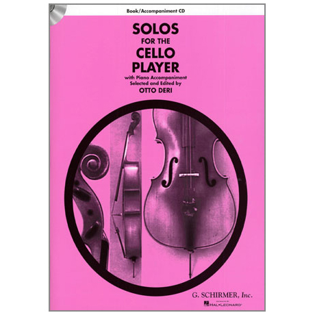 Solos For The Cello Player (+CD)