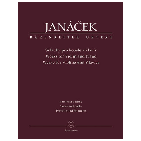 Janácek, L.: Werke für Violine und Klavier
