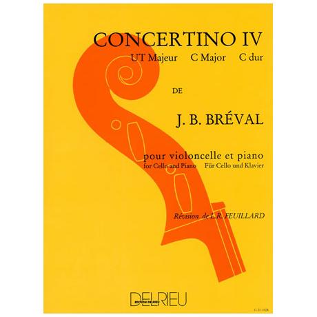 Bréval, J.B.: Concertino Nr.4 C-Dur