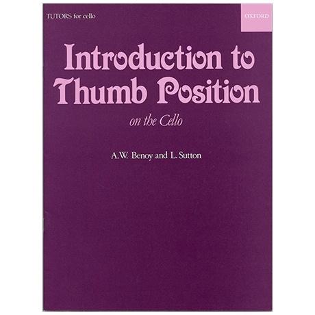 Benoy, A. W. / Sutton, L.: An Introduction to thumb position