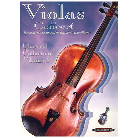 Violas in Concert - Classical Collection Band 1