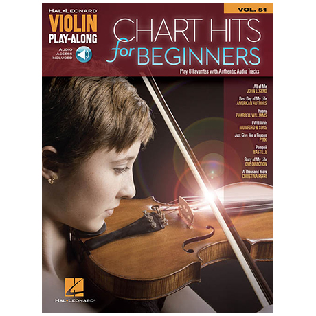 Chart Hits for Beginners mit Audio Download