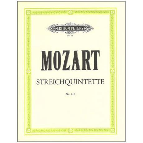 Mozart, W. A.: Streichquintette Band 1, KV 406, 515, 516, 593, 614