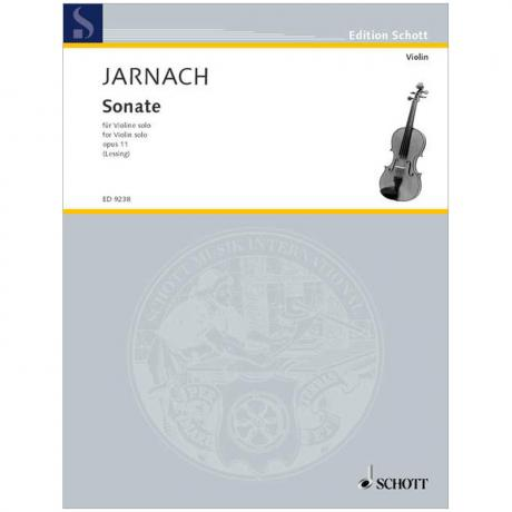 Jarnach, Ph.: Sonate Op. 11 (1913)