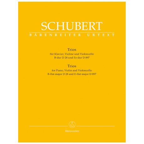 Schubert, F.: Klaviertrios D 28, 897 Op. posth. 148 B-Dur, Es-Dur