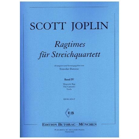 Joplin, S.: Ragtimes für Streichquartett Band 4