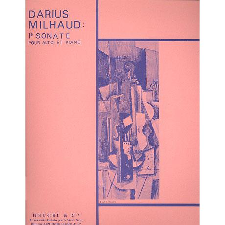 Milhaud, D.: Sonate 1 Op.240