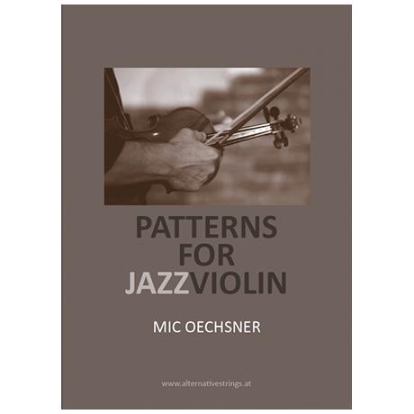 Oechsner, M.: Patterns for Jazz Violin (+MP3-CD)
