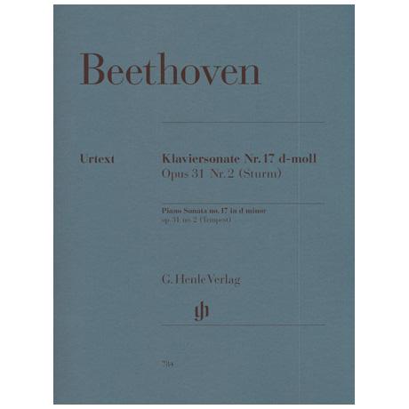 Beethoven, L. v.: Klaviersonate Nr. 17 d-Moll Op. 31,2 Sturmsonate