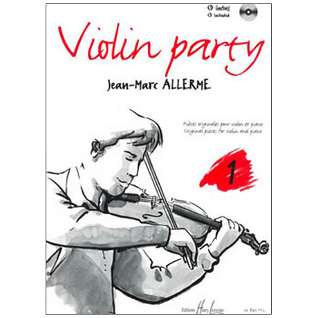 Allerme, J.-M.: Violin Party Band 1 (+CD)