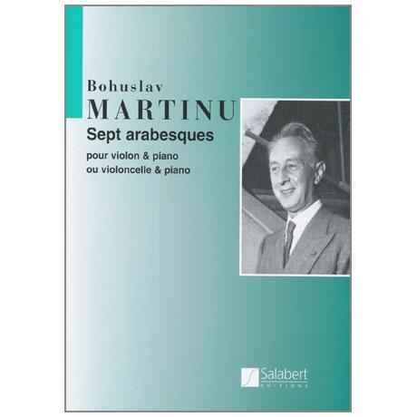 Martinu, B.: 7 Arabesques