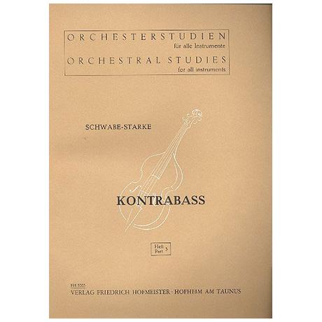 Schwabe; Starke: Orchesterstudien Band 3 - Beethoven, Haydn, Gluck, Mozart