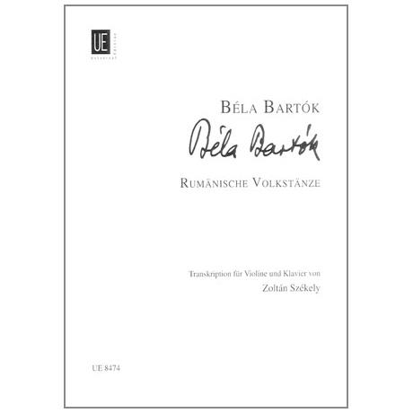 Bartók, B.: Rumänische Volkstänze