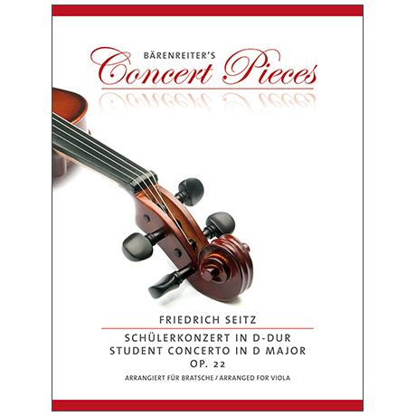 Seitz, F.: Schülerkonzert D-Dur Op.22