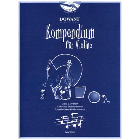Kompendium für Violine - Band 2 (+CD)