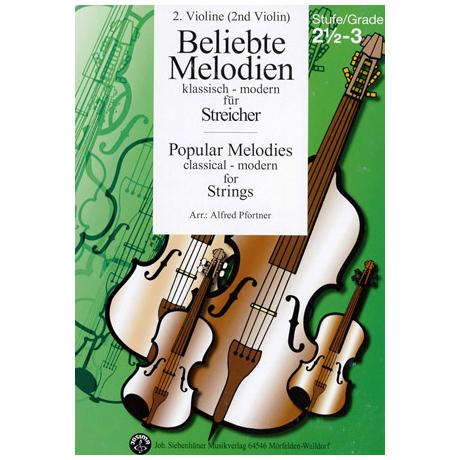 Beliebte Melodien: klassisch bis modern Band 4 – Violine 2