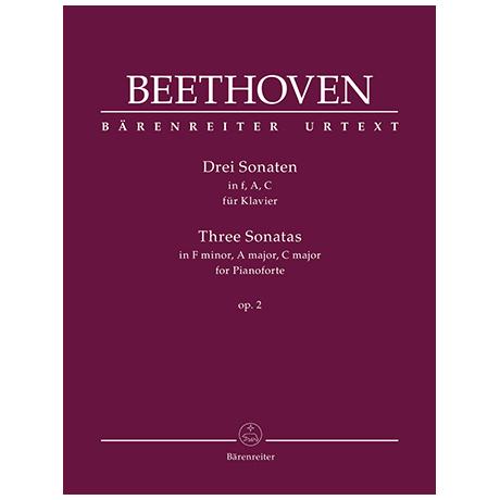 Beethoven, L. v.: Drei Sonaten Op. 2