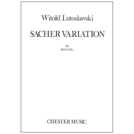 Lutoslawski, W.: Sacher Variation
