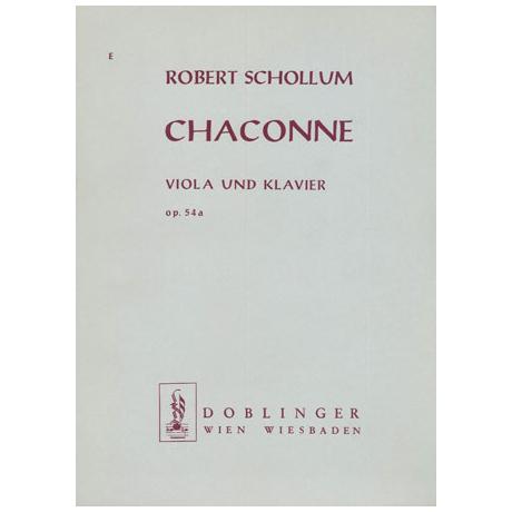 Schollum, R.: Chaconne Op. 54a