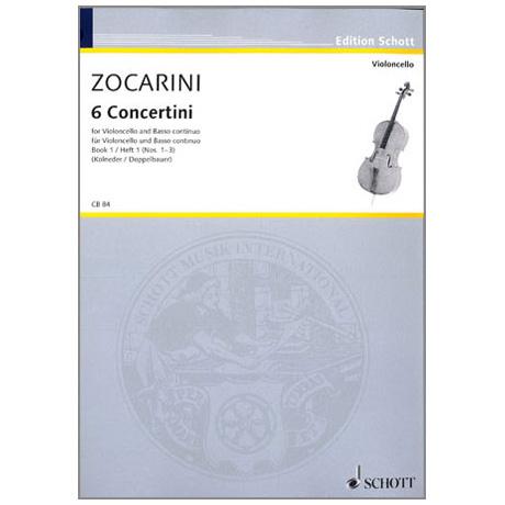 Zocarini, M.: 6 Concertini Band 1 (1-3)