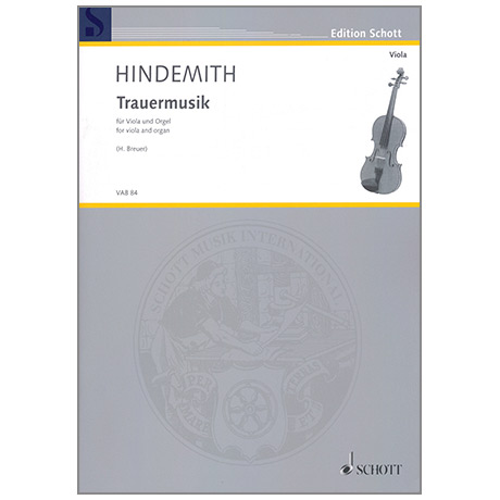 Hindemith: Trauermusik