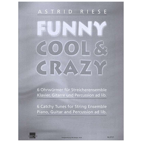 Riese, A.: Funny Cool & Crazy – Violoncello 2 (leicht)