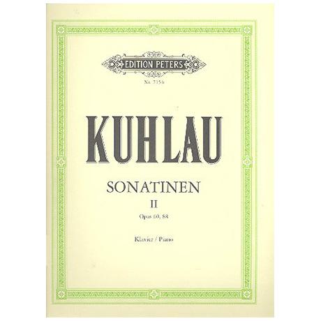 Kuhlau: Sonatinen Band II