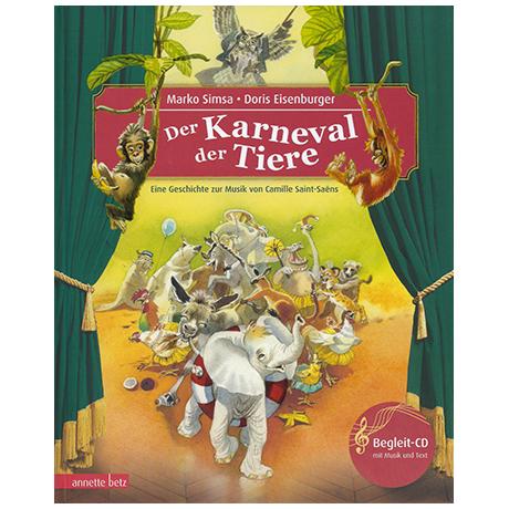 Simsa, M. Der Karneval der Tiere (+CD)