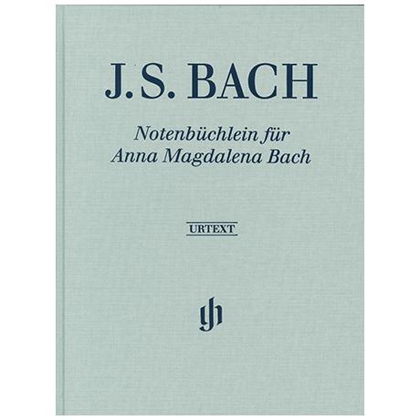 Bach, J. S.: Notenbüchlein für Anna Magdalena Bach (Leinenausgabe)