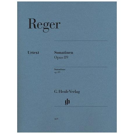 Reger, M.: Sonatinen Op. 89