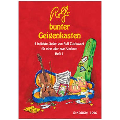 Zuckowski, R.: Rolfs bunter Geigenkasten Heft 1