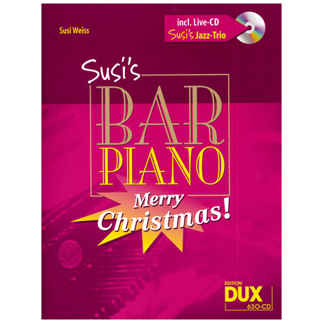 Susi's Bar Piano – Merry Christmas! (+CD)
