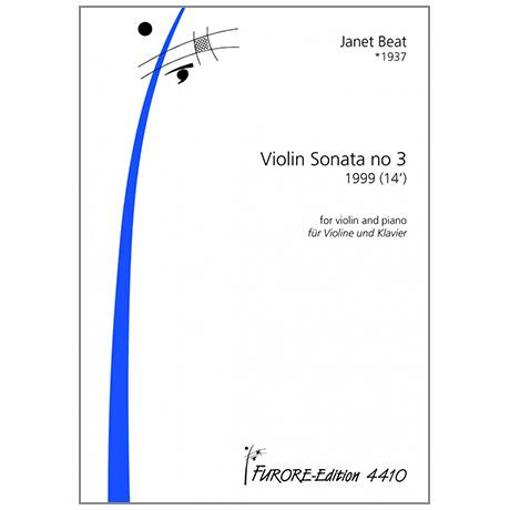 Beat, J.: Violinsonate Nr. 3 (1999)