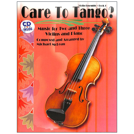 McLean, M.: Care to Tango? Book 1 (+ CD)