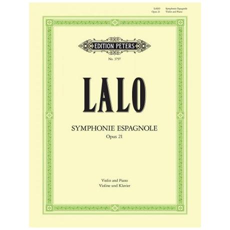 Lalo, E.: Violinkonzert Nr. 2 d-Moll Op. 21 »Symphonie espagnole«