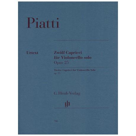 Piatti, A.: 12 Capricci Op. 25