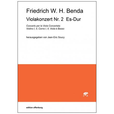 Benda, F. W. H.: Violakonzert Nr. 2 Es-Dur