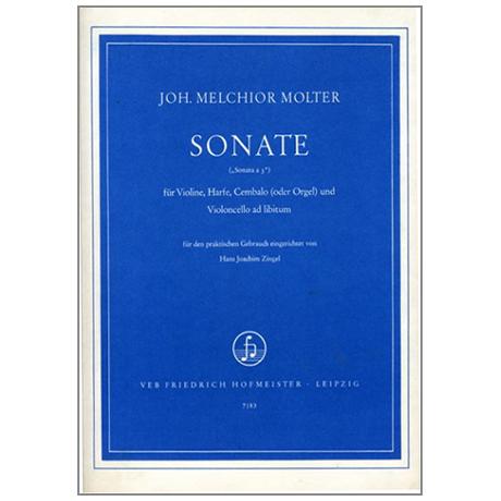 Molter, J.: Sonate a 3
