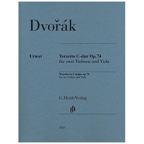 Dvořák, A.: Terzett Op. 74 C-Dur